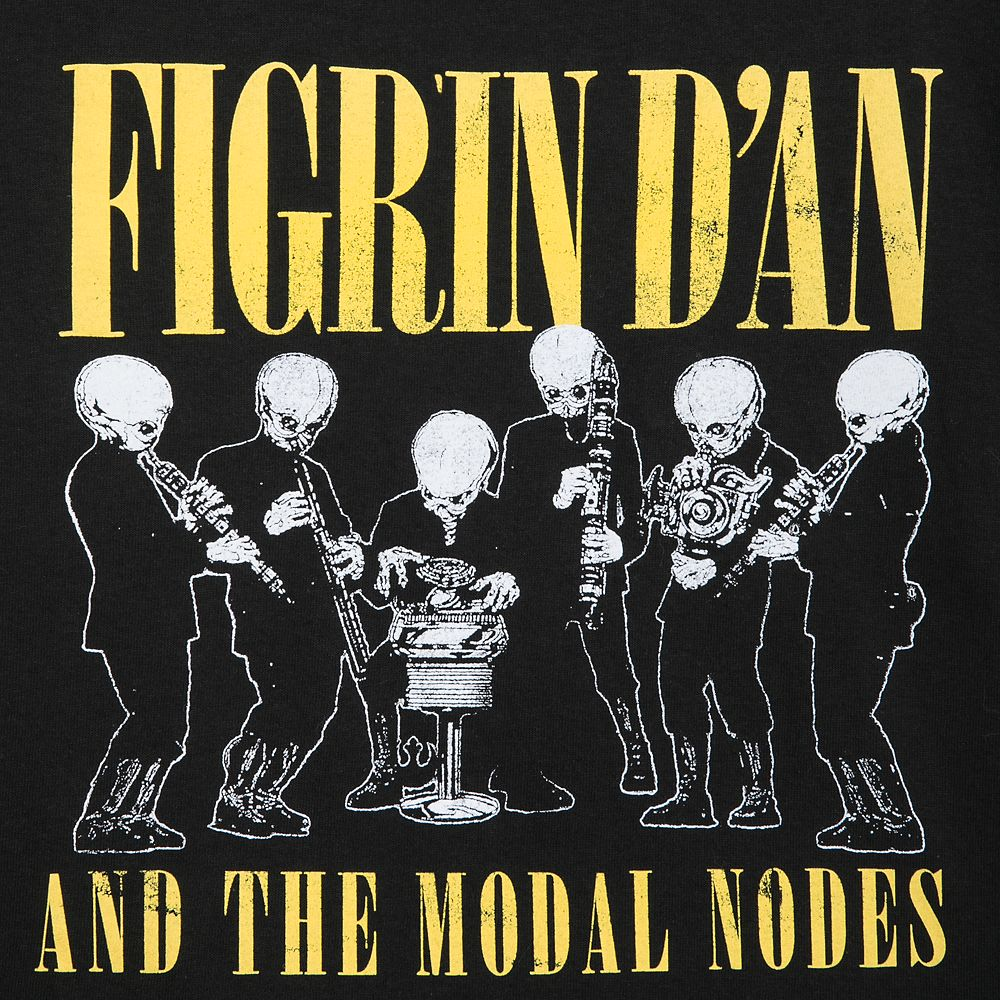 Figrin D'an and the Modal Nodes T-Shirt for Men – Star Wars
