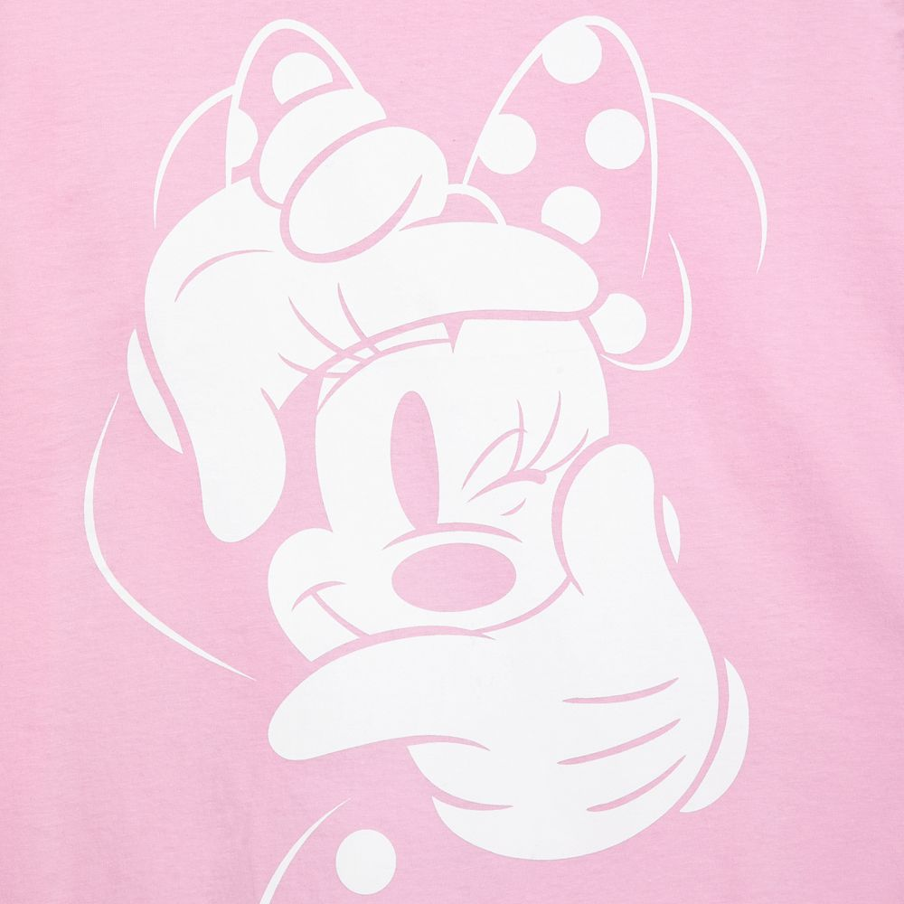 Minnie Mouse Winking T-Shirt for Women