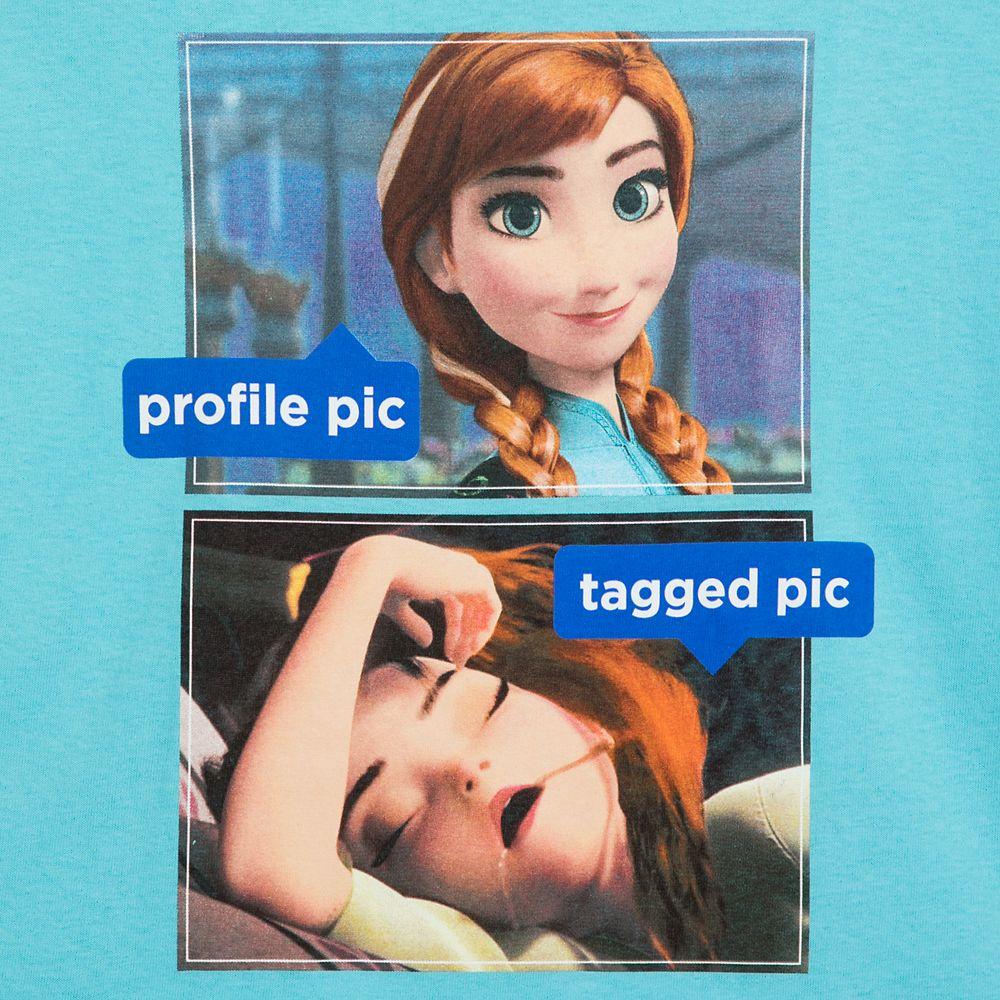 Anna Social Media T-Shirt for Adults – Frozen