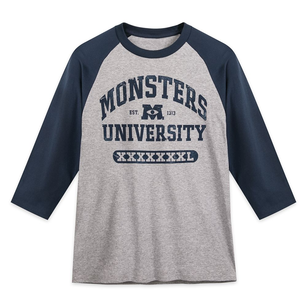Monsters University Baseball T-Shirt for Adults