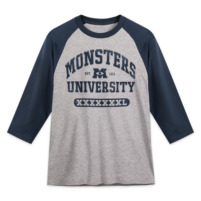 Monsters University Baseball T-Shirt for Adults
