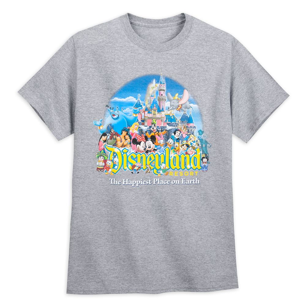 Mickey Mouse and Friends Tee for Adults – Disneyland