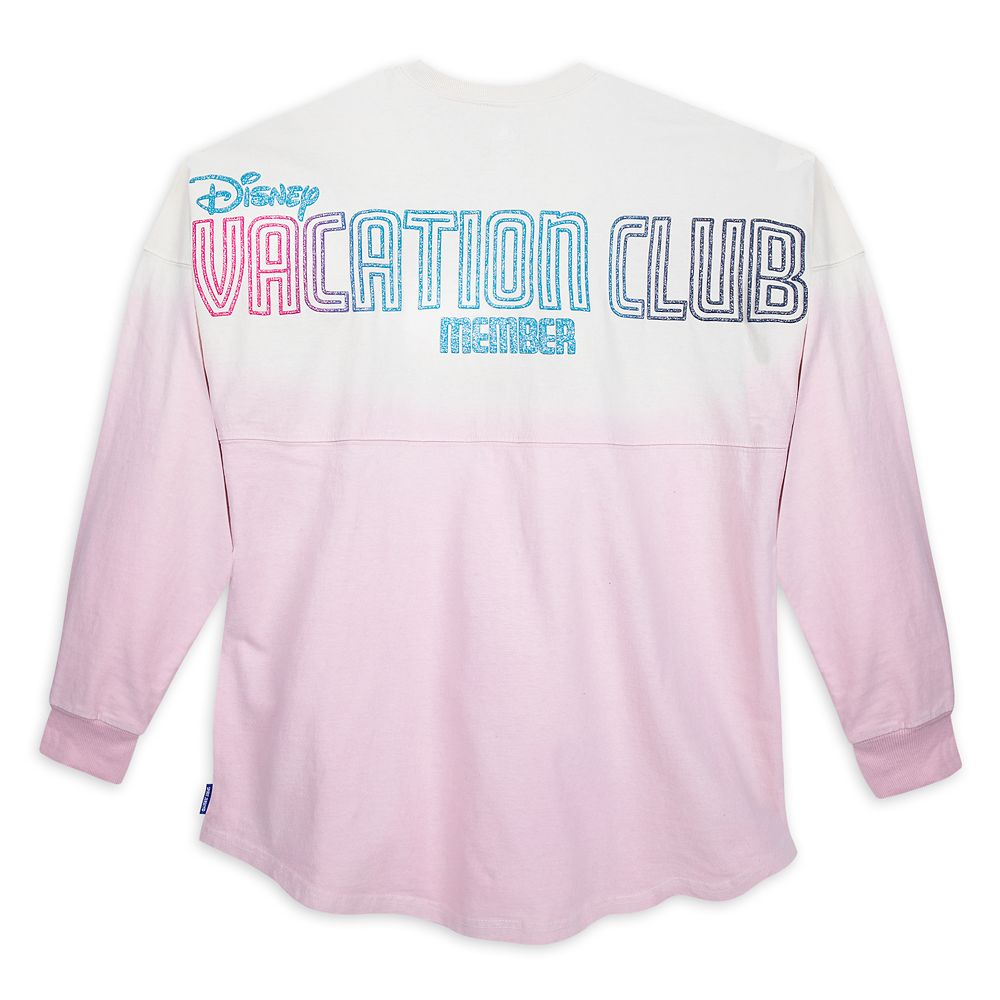Disney Vacation Club Member Spirit Jersey for Adults – Ombré Pink