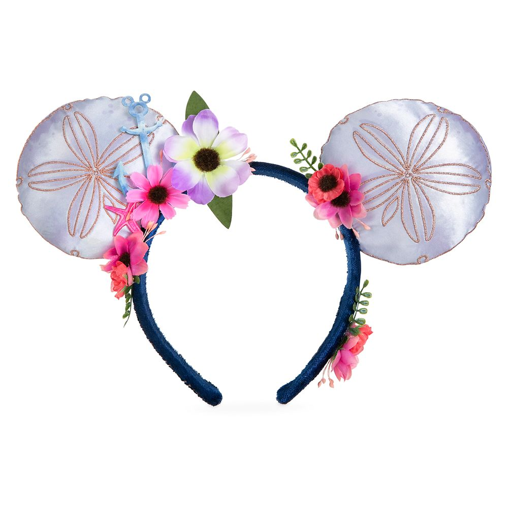 Mickey Mouse Sand Dollar Disney Cruise Line Ear Headband