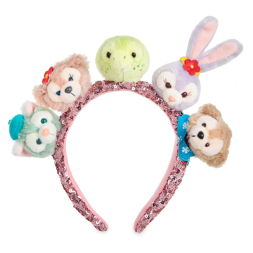 Duffy and Friends Plush Headband for Adults – Aulani, A Disney Resort & Spa