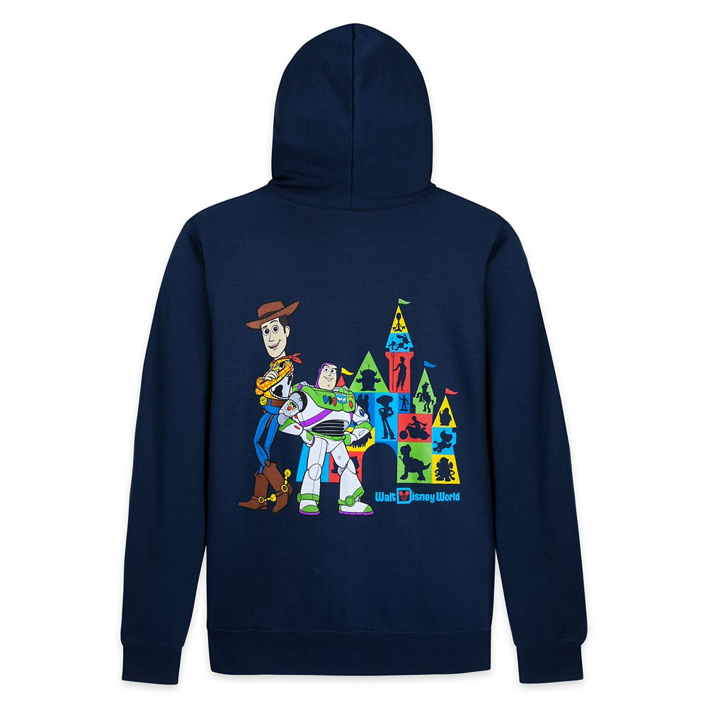 Toy Story Zip-Up Hoodie for Adults – Walt Disney World