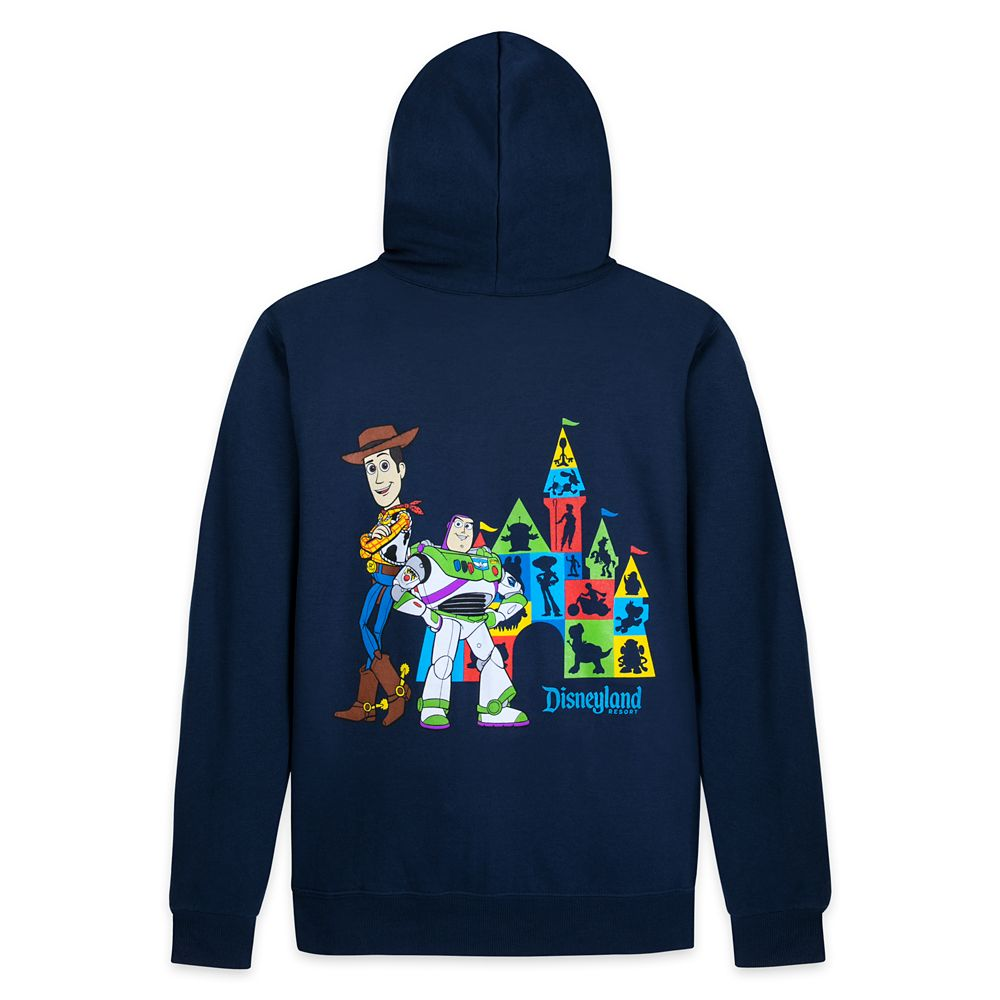 Toy Story Zip-Up Hoodie for Adults – Disneyland
