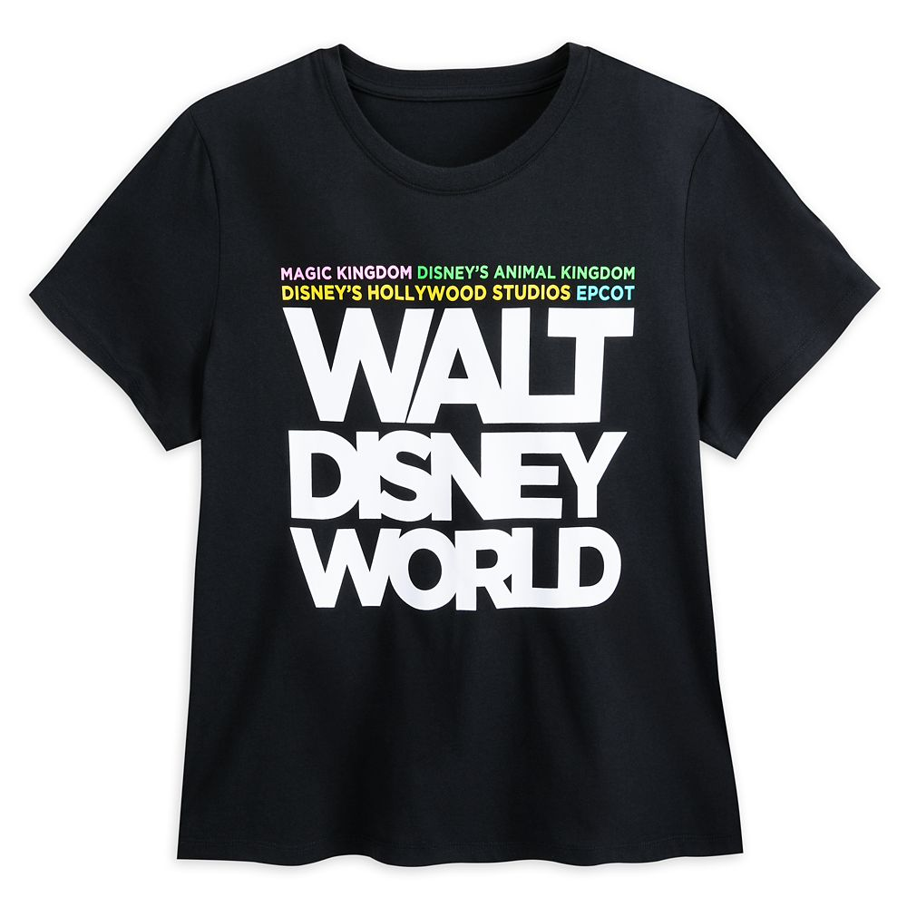Walt Disney World Text T-Shirt for Women