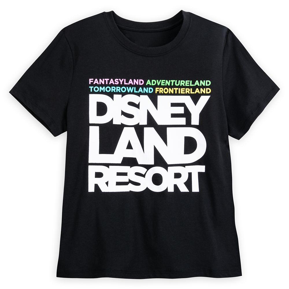 Disneyland Text T-Shirt for Women