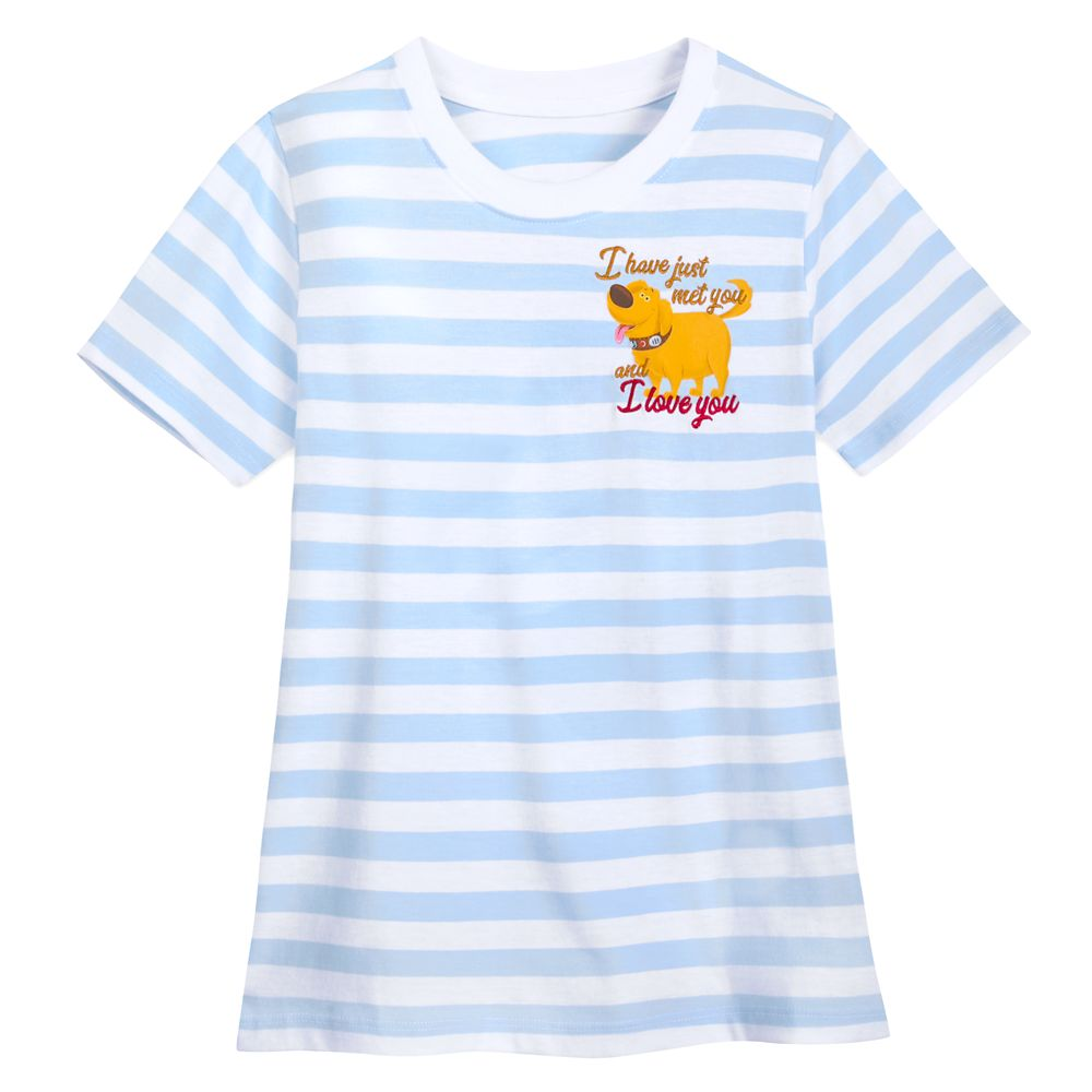 Dug Striped T-Shirt for Women – Up