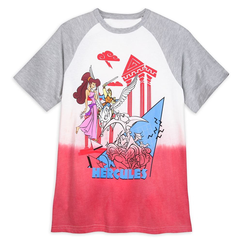 Hercules Short Sleeve Baseball T-Shirt for Adults