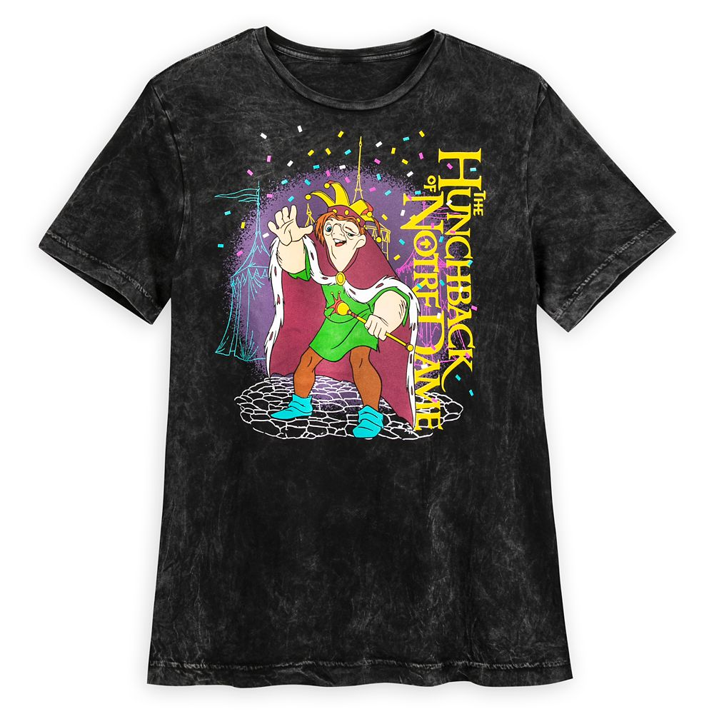 Quasimodo Acid Wash T-Shirt for Adults – The Hunchback of Notre Dame