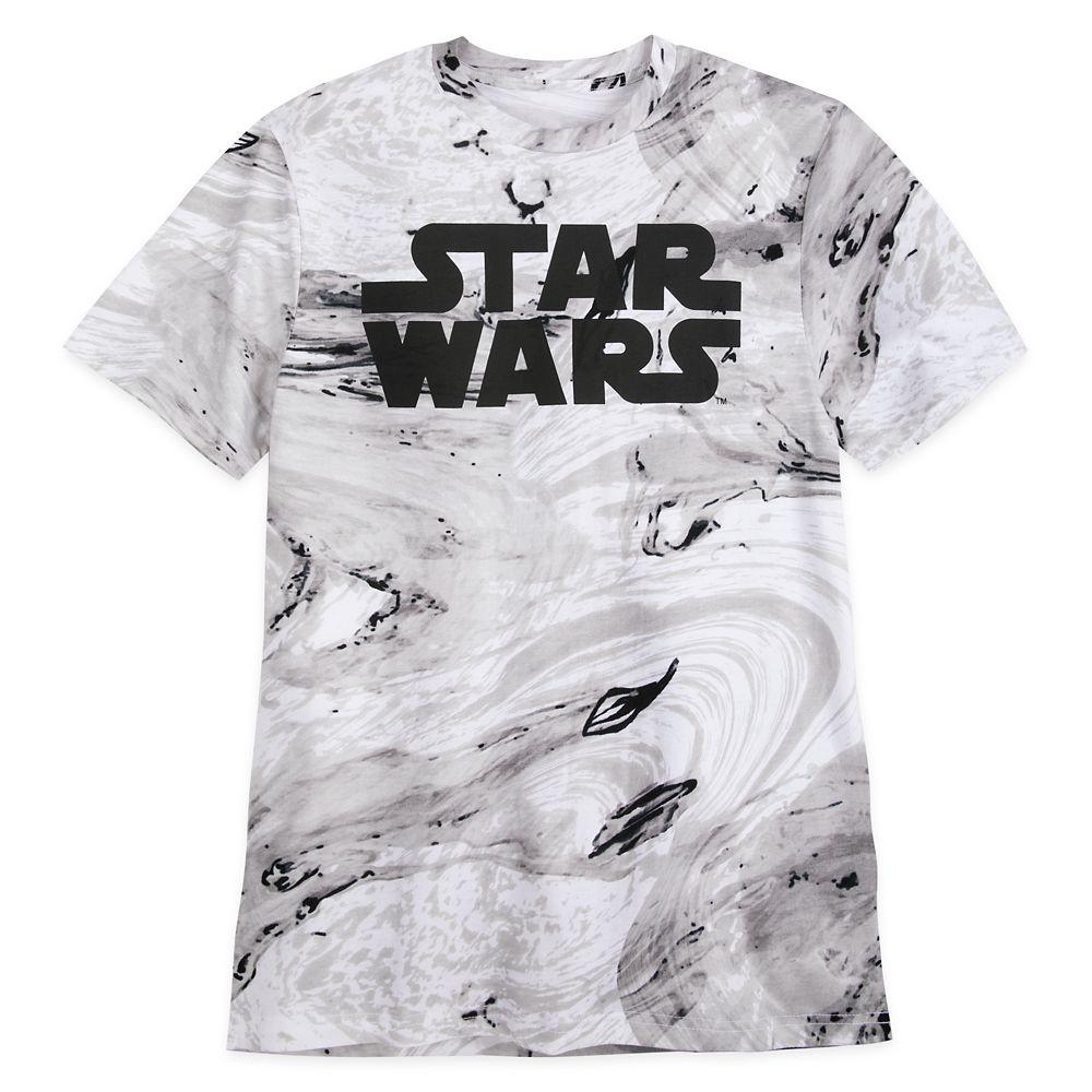Star Wars Logo Marbled T-Shirt for Men