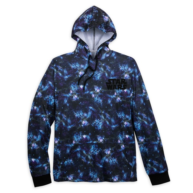 Star Wars Galaxy Hooded Pullover for Adults by Our Universe