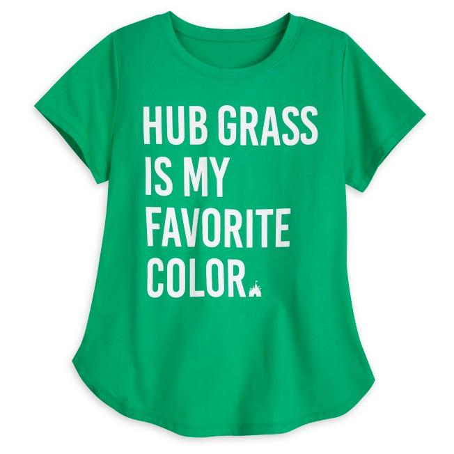 Hub Grass T-Shirt for Women – Walt Disney World