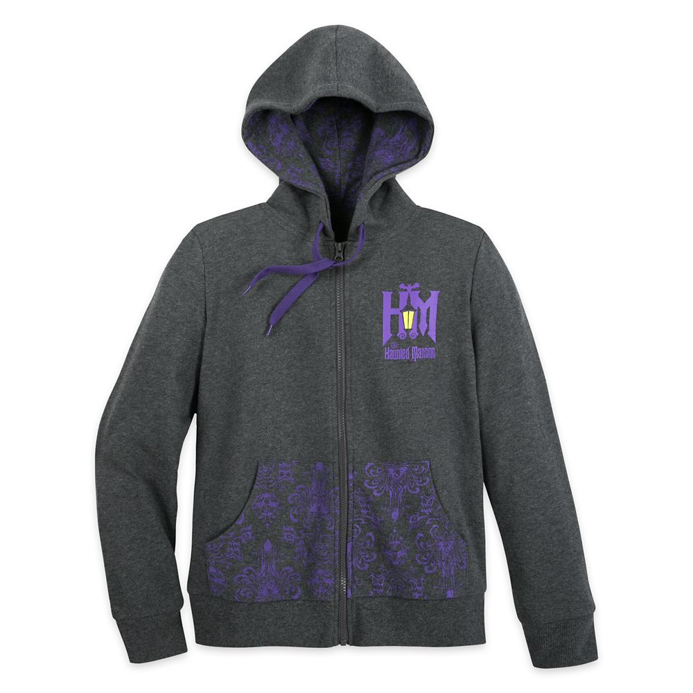 The Haunted Mansion Zip-Up Hoodie for Women