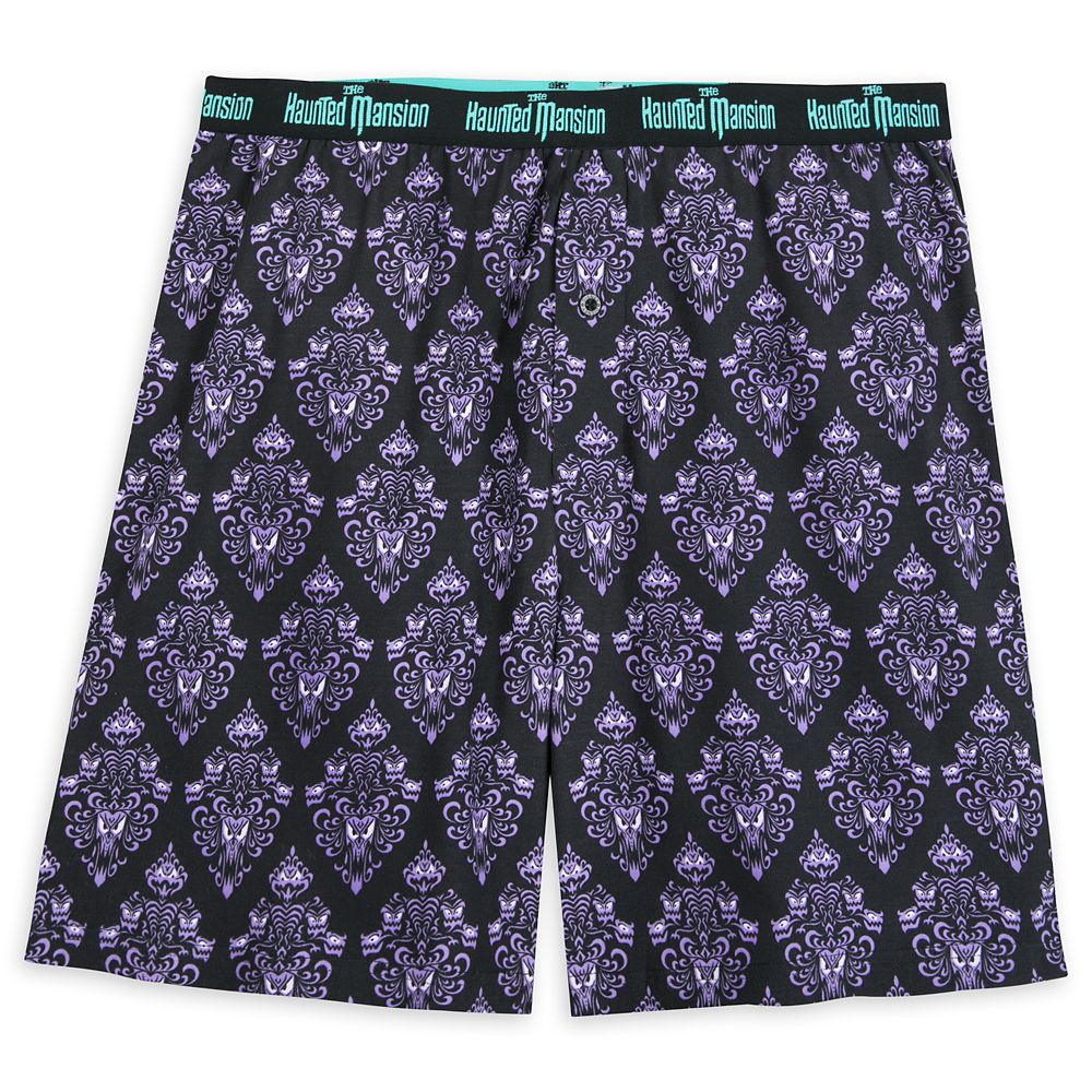 The Haunted Mansion Wallpaper Boxer Shorts for Men