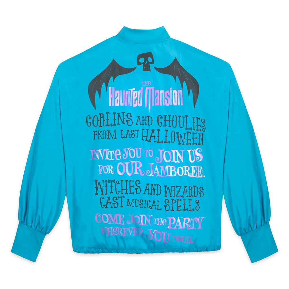 The Haunted Mansion Windbreaker Jacket for Women