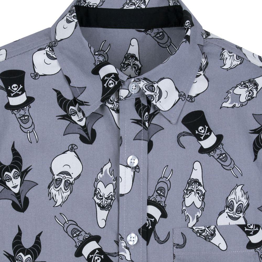 Disney Villains Woven Shirt for Men