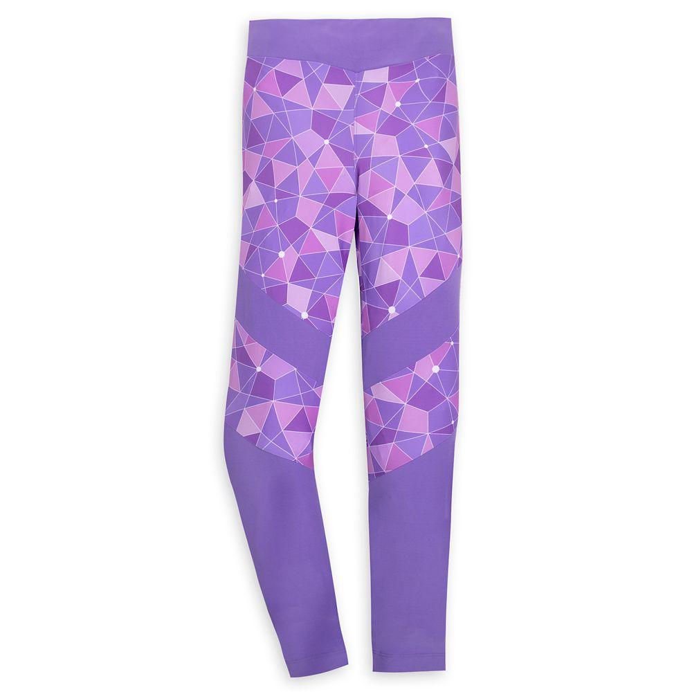shopdisney.com - Purple Wall Leggings for Women  Walt Disney World 39.99 USD