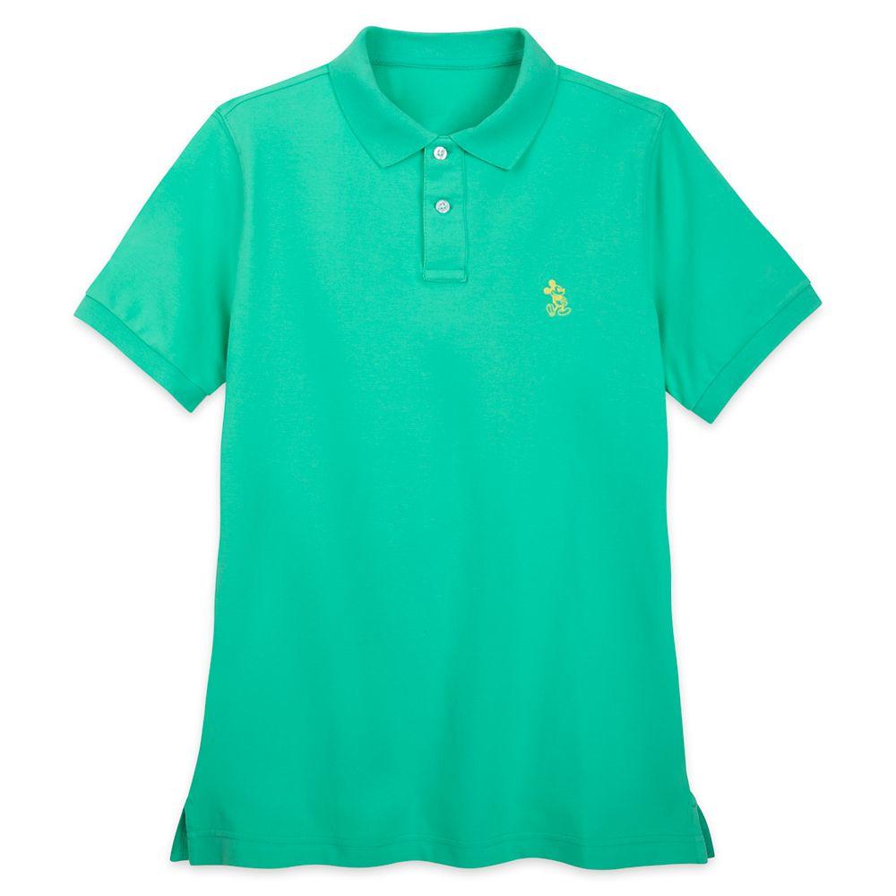 Mickey Mouse Polo Shirt for Men – Green