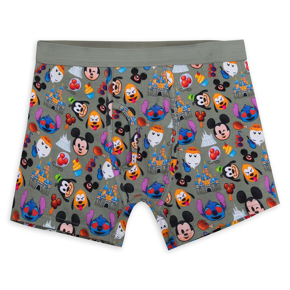 Mickey Mouse and Friends Emoji Boxer Briefs for Men