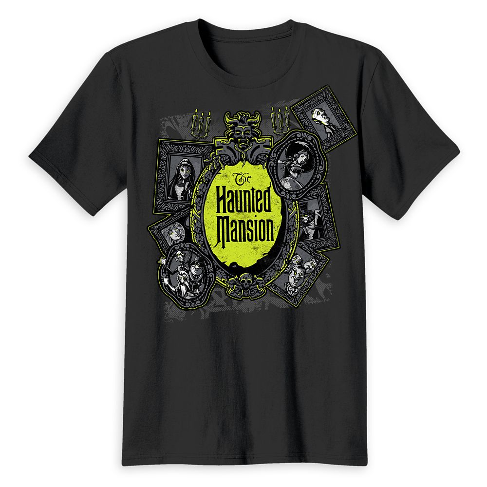 The Haunted Mansion Logo T-Shirt for Adults