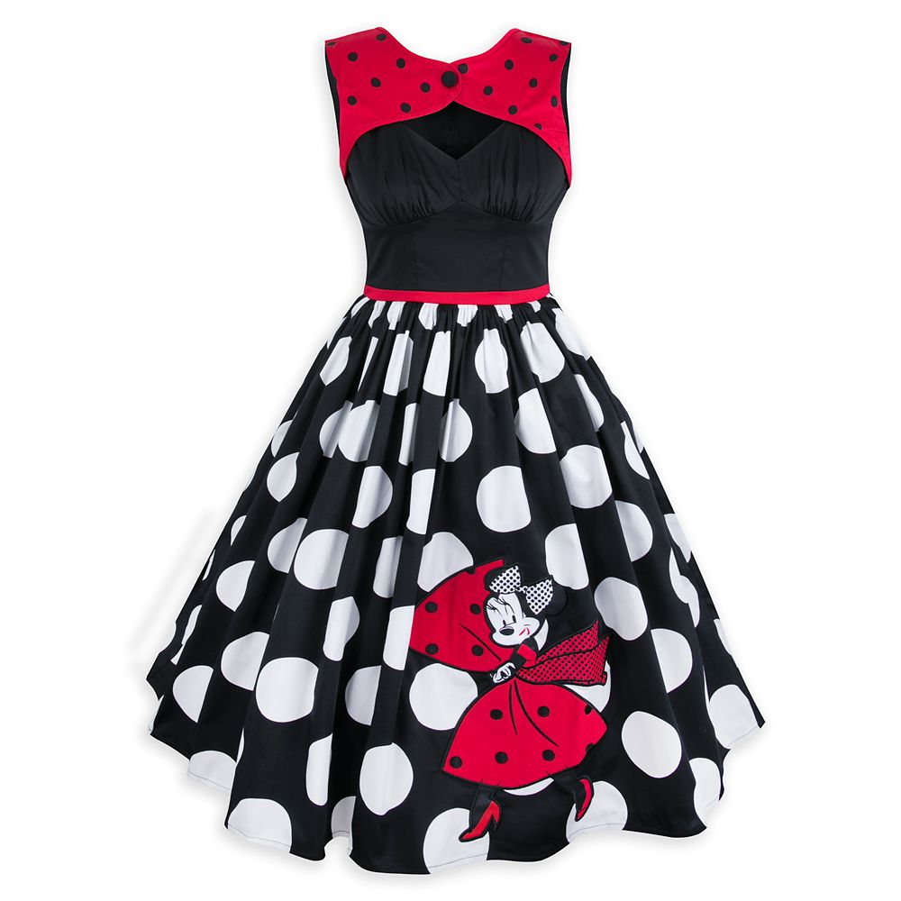 Minnie Mouse Polka Dot Dress for Women