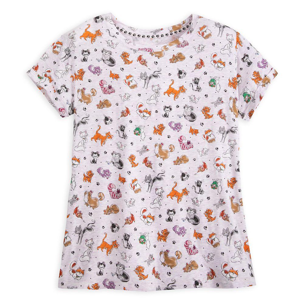 Disney Cats T-Shirt for Women
