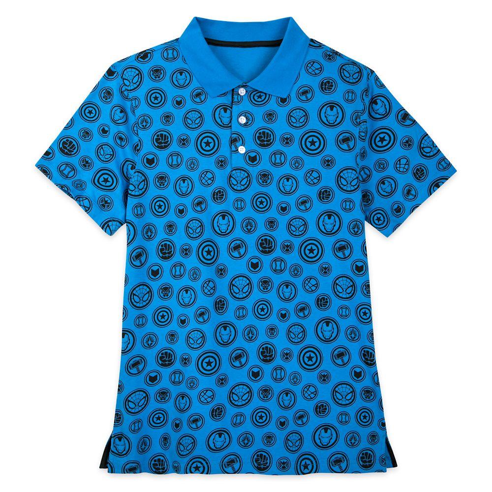 Marvel Polo Shirt for Men – Slim Fit