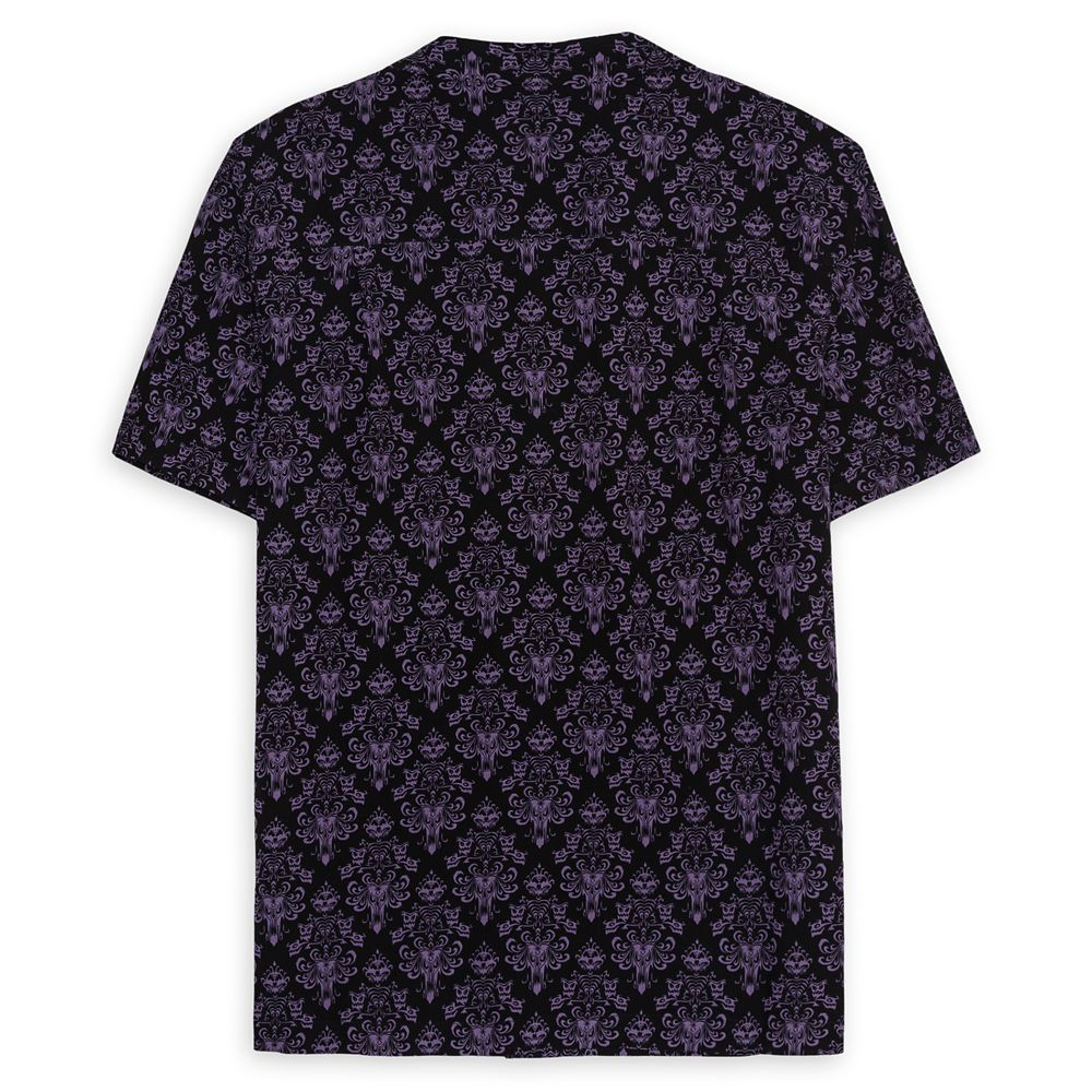 The Haunted Mansion Wallpaper Woven Shirt for Men