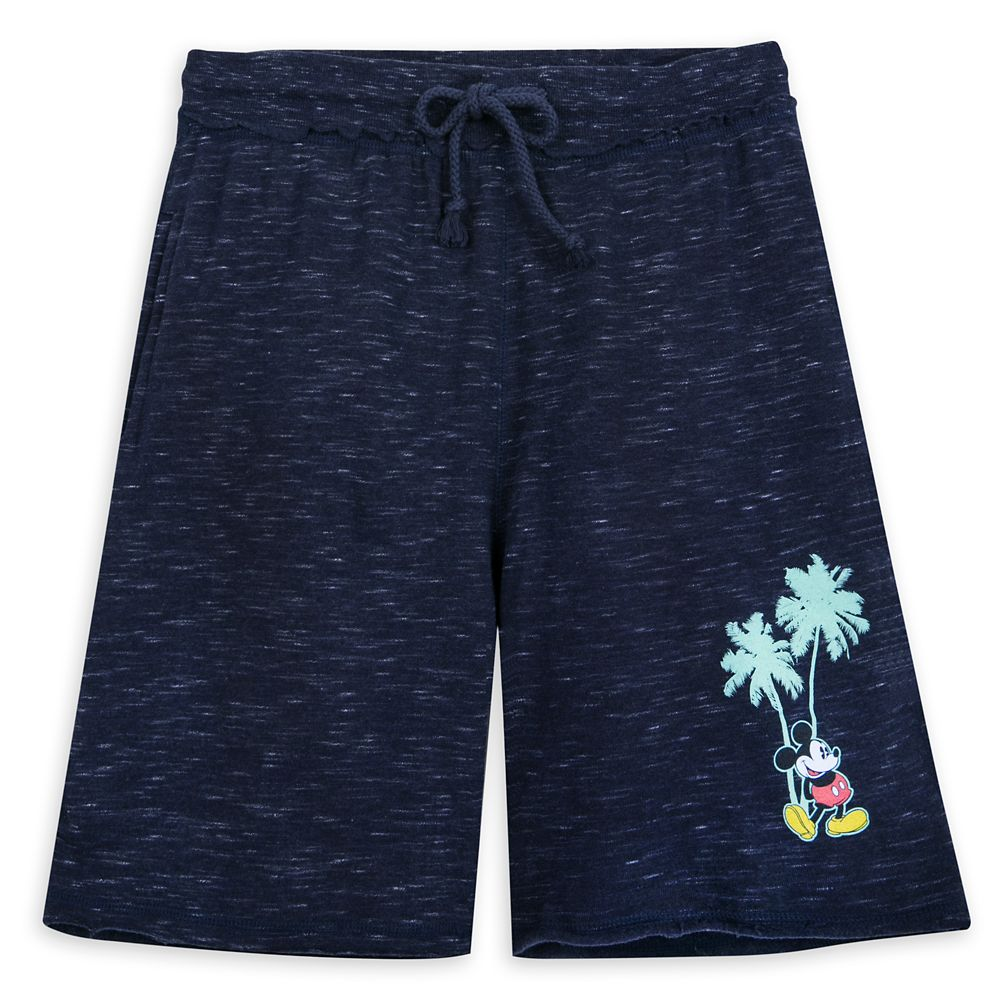 Mickey Mouse Tropical Shorts for Adults