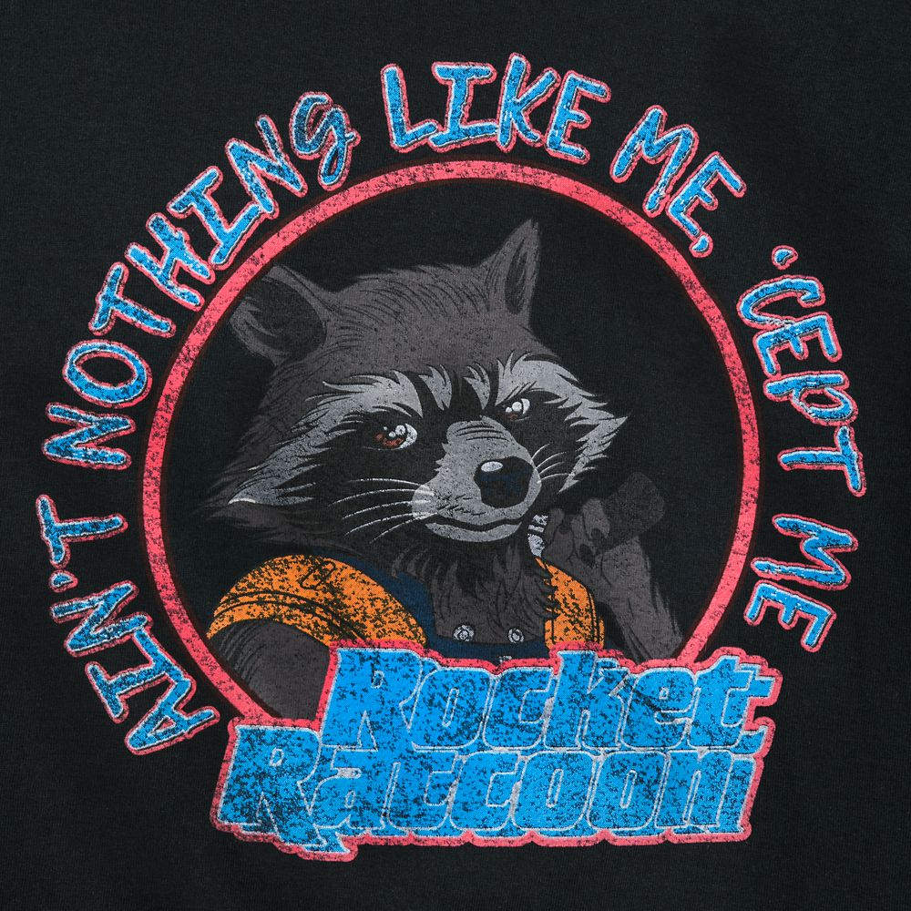 Rocket Raccoon T-Shirt for Adults – Guardians of the Galaxy
