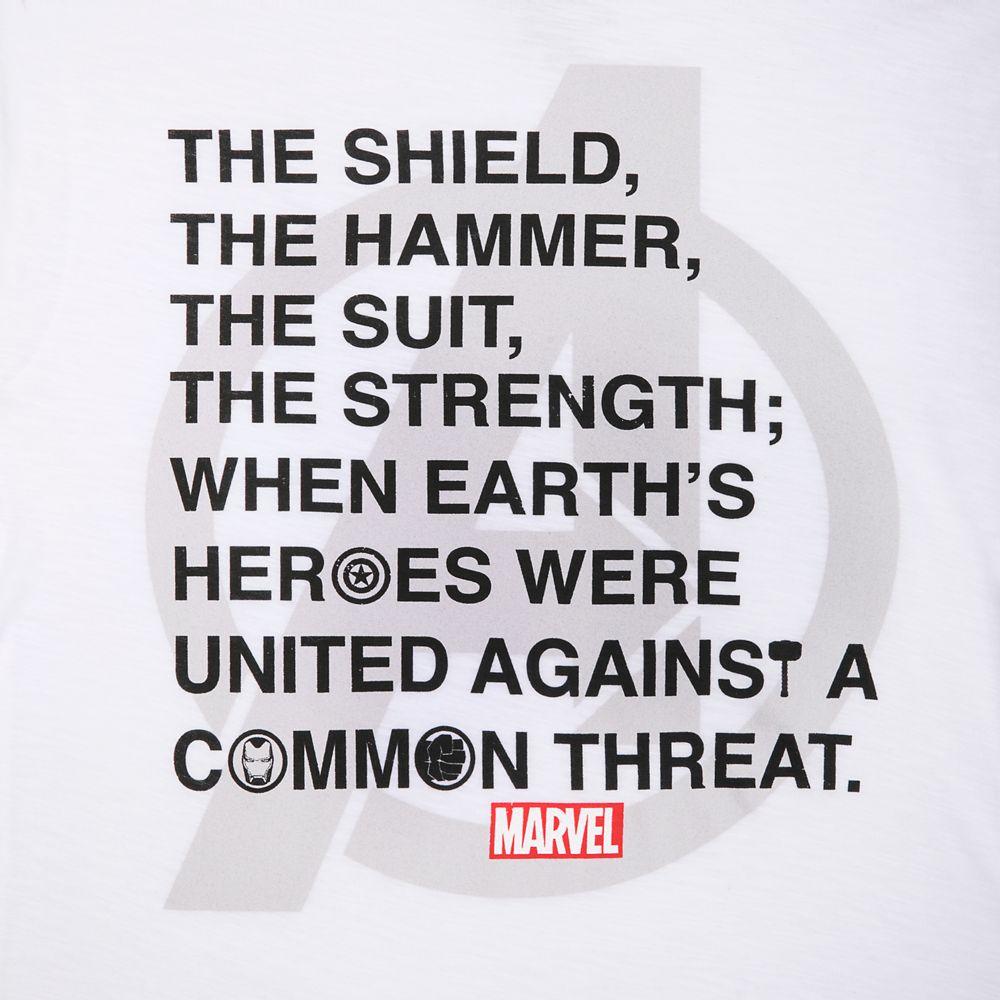 Marvel Avengers Text T-Shirt for Men
