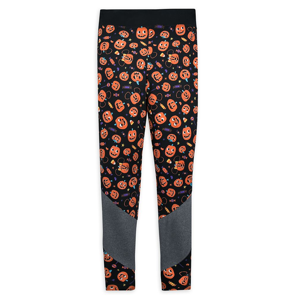 Mickey and Minnie Mouse Pumpkin Halloween Leggings for Women
