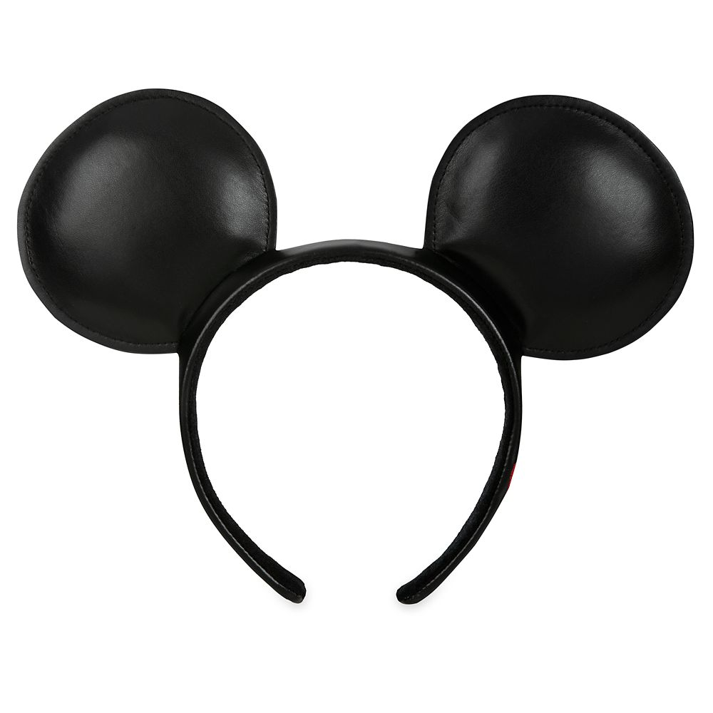 Mickey Mouse Simulated Leather Ear Headband
