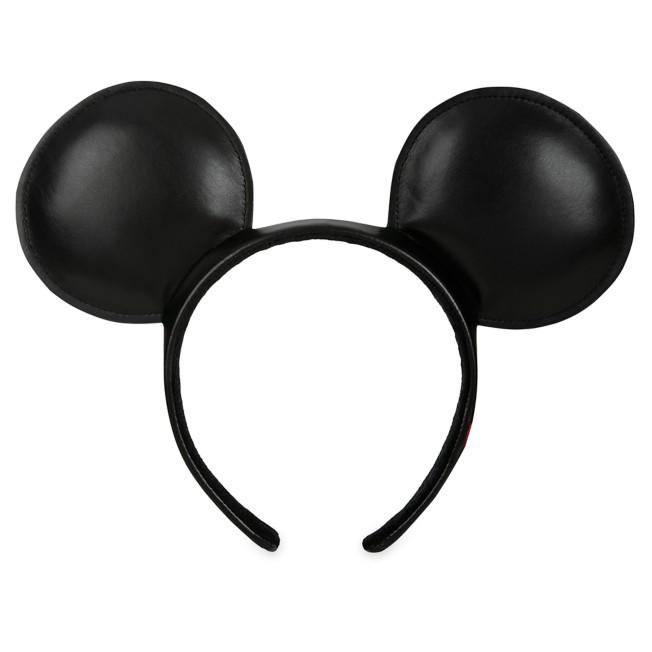 Mickey Mouse Simulated Leather Ear Headband