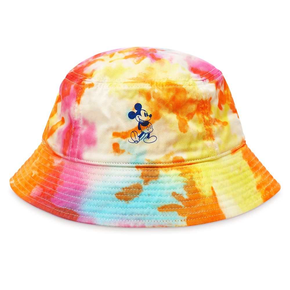 Mickey Mouse Tie Dye Bucket Hat for Adults – Disney Parks