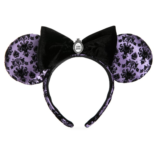 Minnie Mouse Haunted Mansion Wallpaper Ear Headband