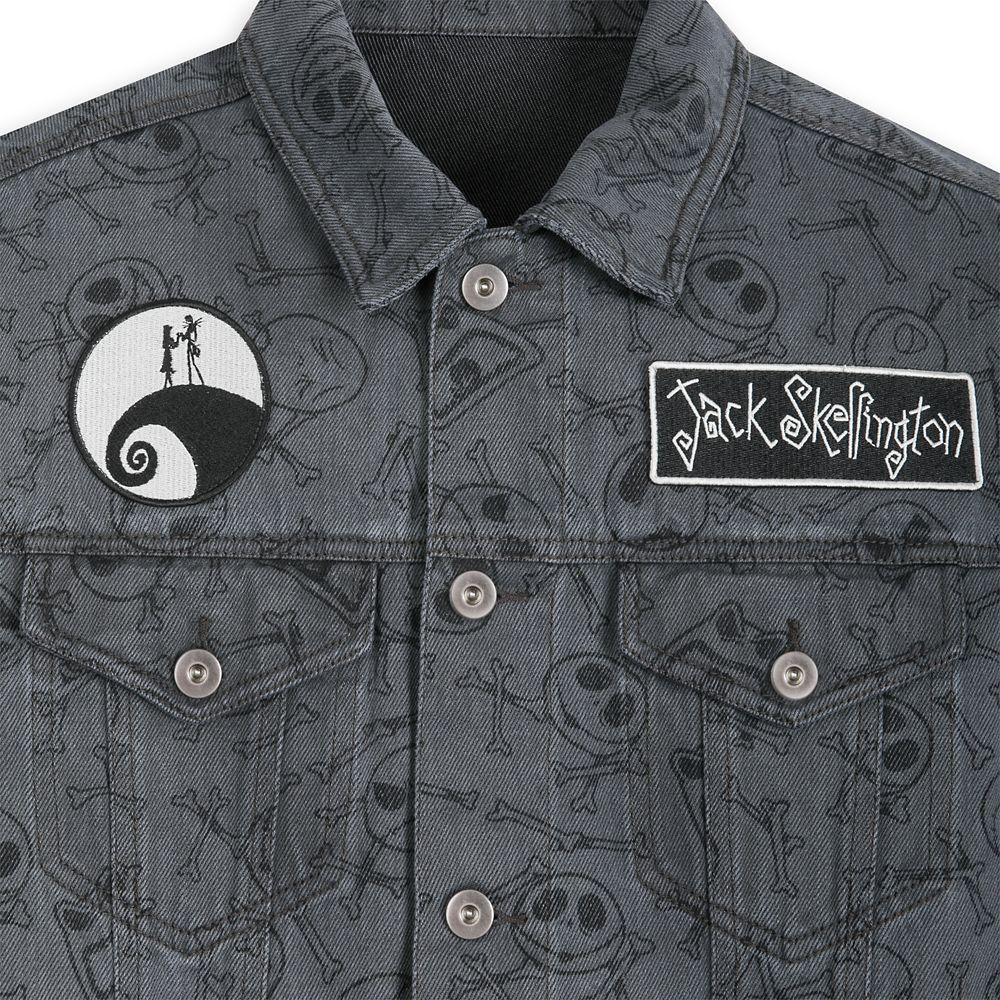 Jack Skellington Denim Jacket for Men