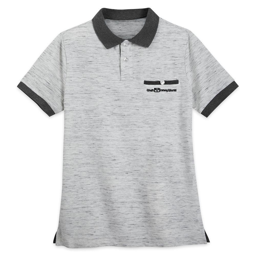 Walt Disney World Polo Shirt for Men – Gray