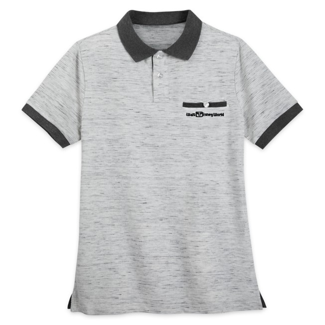 Walt Disney World Polo Shirt for Men – Gray