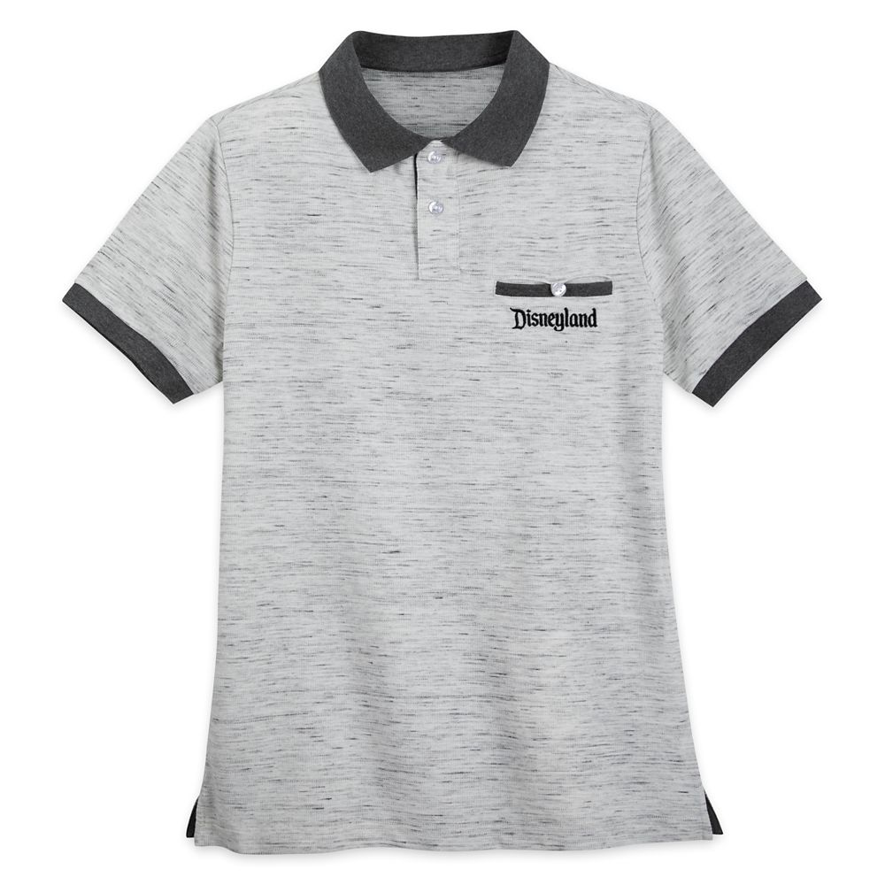 Disneyland Polo Shirt for Men – Gray