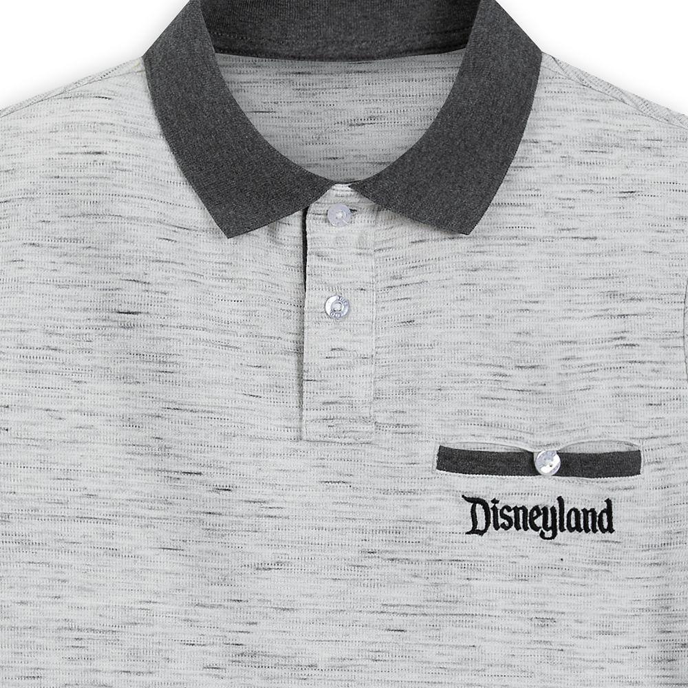 Disneyland Polo Shirt for Men – Gray