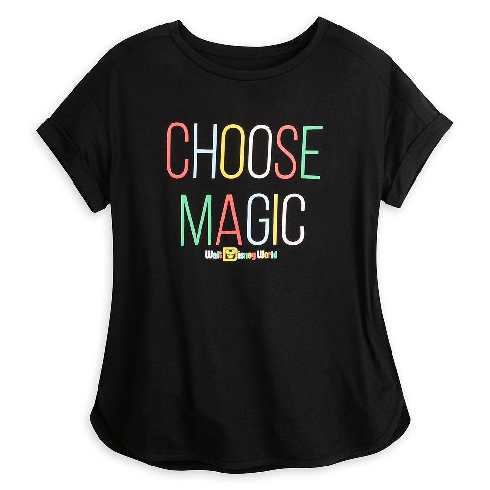 Choose Magic T-Shirt for Women – Walt Disney World