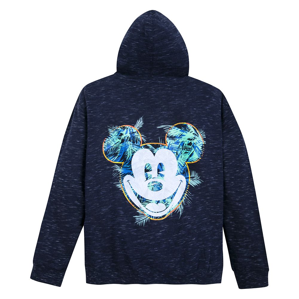 Mickey Mouse Tropical Zip Hoodie for Adults – Disneyland