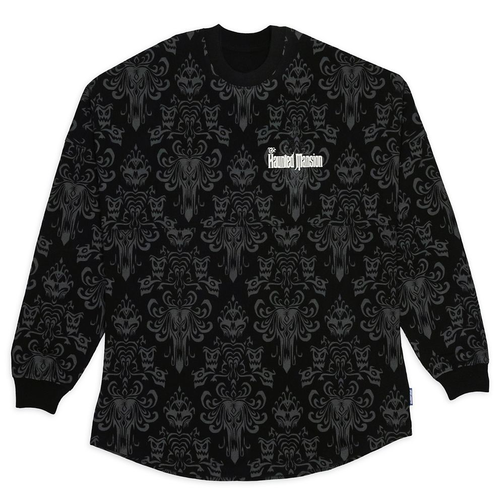 The Haunted Mansion Wallpaper Spirit Jersey for Adults – Disneyland