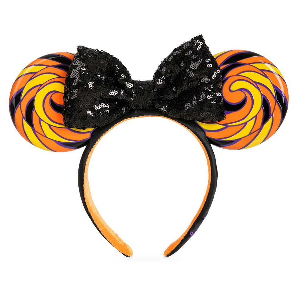 Minnie Mouse Ear Headband with Sequined Bow – Halloween Candy