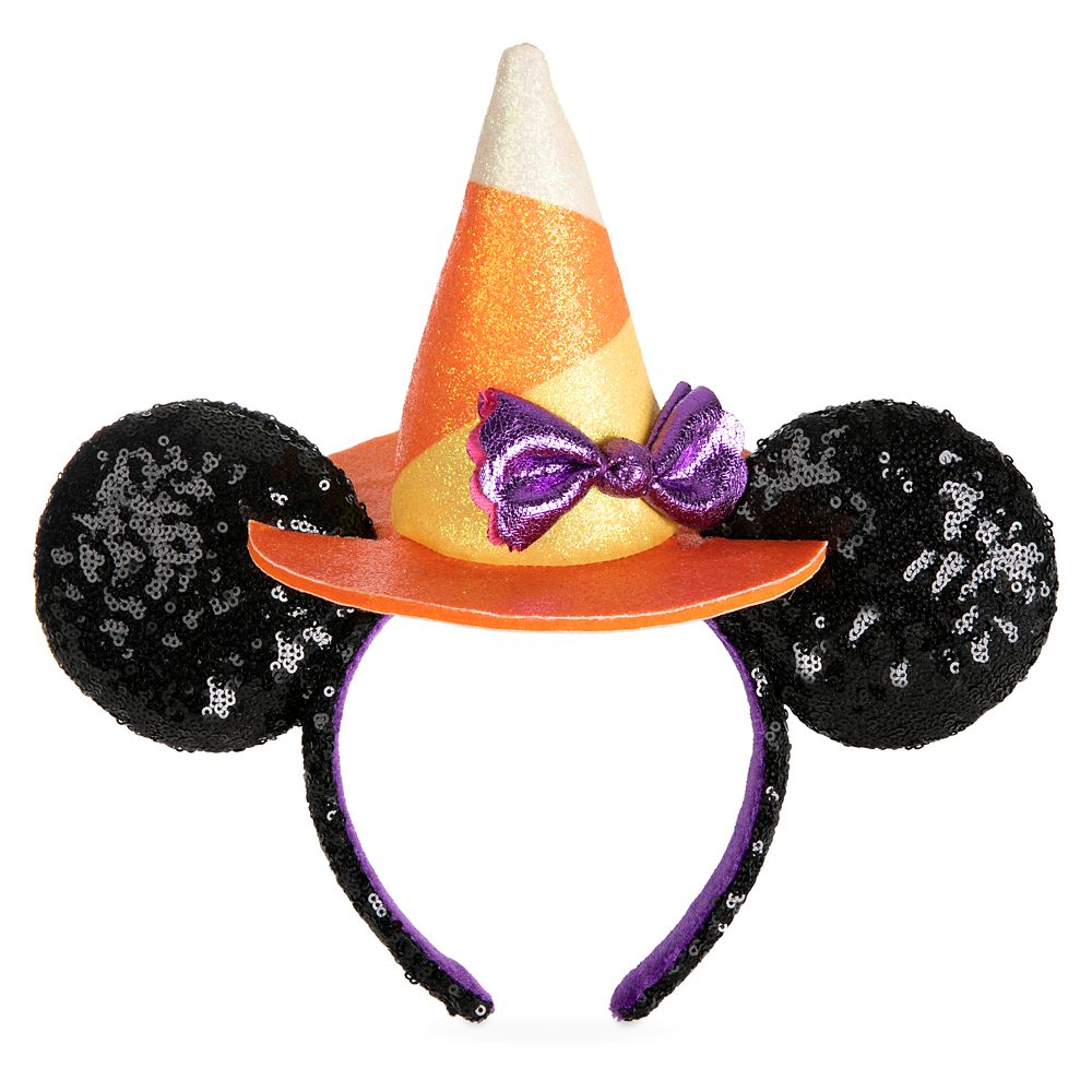 Minnie Mouse Halloween Witch Sequined Ear Headband Official shopDisney