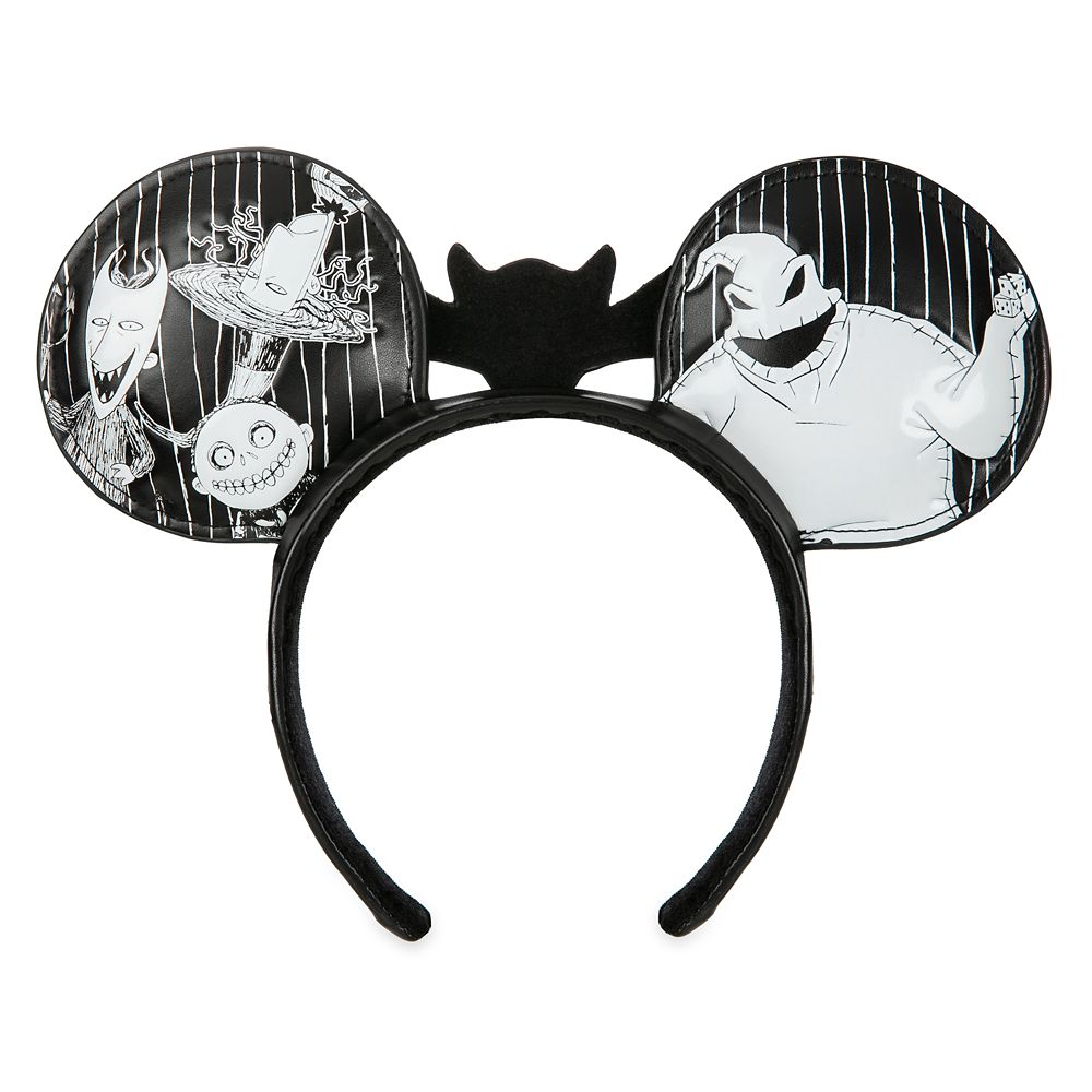 The Nightmare Before Christmas Minnie Mouse Ear Headband